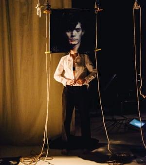 Inspired by Robert Mapplethorpe: a scene from Velvet Petal: Bedroom