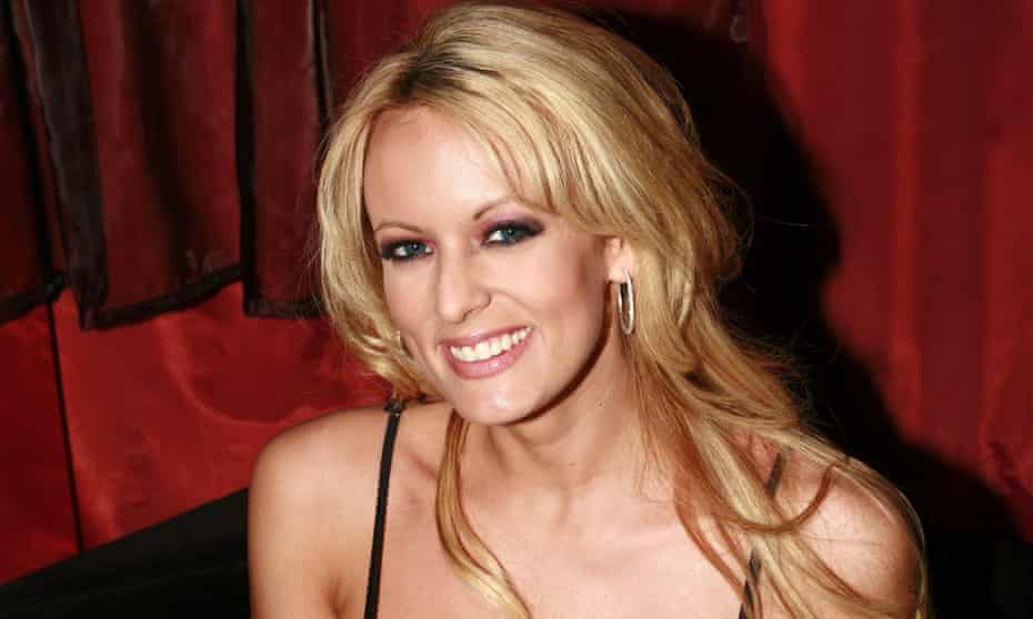 Stormy Daniels, AKA Stephanie Clifford, pictured in 2006, the year of her alleged affair with Donald Trump.