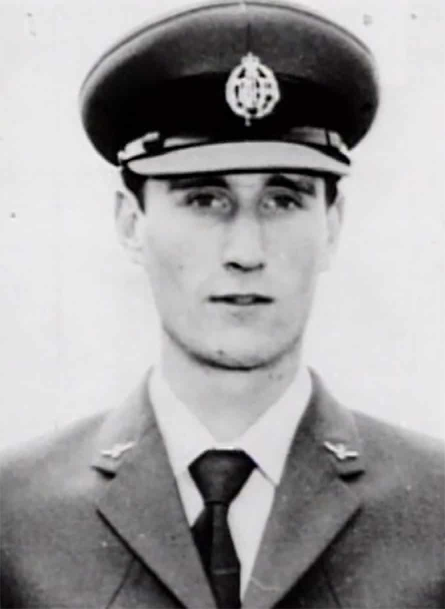 A photo of Fred Valentich, who vanished while flying his plane over Cape Otway in 1978.