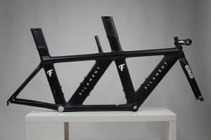 A filament bespoke carbon tandem bike frame