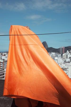 """Favela Ghost Or Pão De Açúcar, from the series """"Land of Black Milk"""", Rio de Janeiro 2016"""