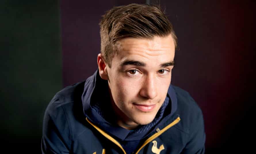 Tottenham's Harry Winks says he went to his first game at White Hart Lane aged six or seven.