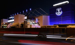 Everton have 32,000 season-ticket holders at Goodison Park and 10,000 people on the waiting list.