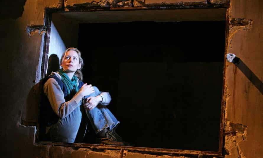 Megan Dodds in My Name Is Rachel Corrie, brought by David Johnson to the Playhouse theatre in 2006.