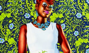 Portrait of a Lady, 2013 by Kehinde Wiley