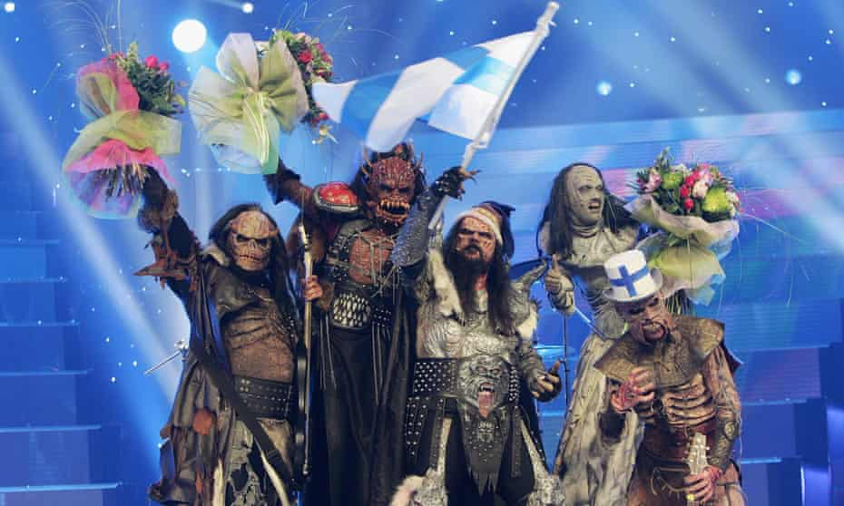 Nothing would capture the spirit of Eurovision better than 30 Finnish rock gods, knee deep in dry ice, belting out a four-part harmony.