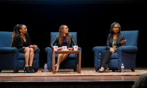 Hill spoke with Kimberlé Crenshaw, a law professor at UCLA and Columbia, and an adviser to Hill's legal team in 1991.