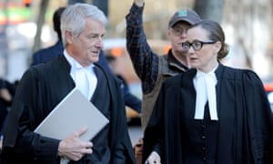 David Curtain QC  and Fiona Forsyth of Slater and Gordon Lawyers