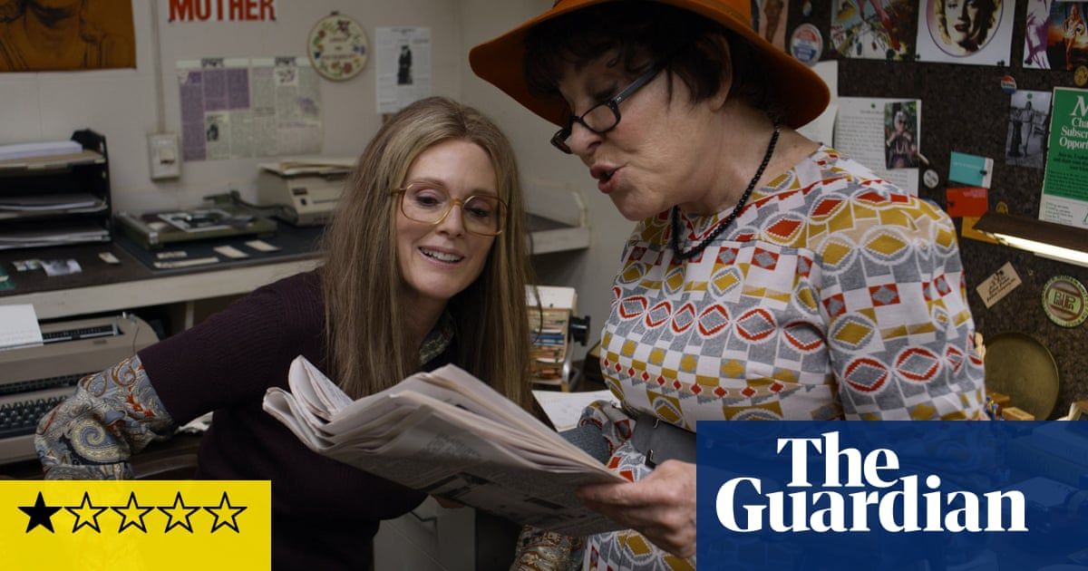 The Glorias review – Gloria Steinem biopic is a laughably shoddy mess