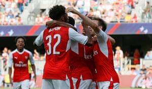 Akpom winning goal over MLS All-Stars 2016
