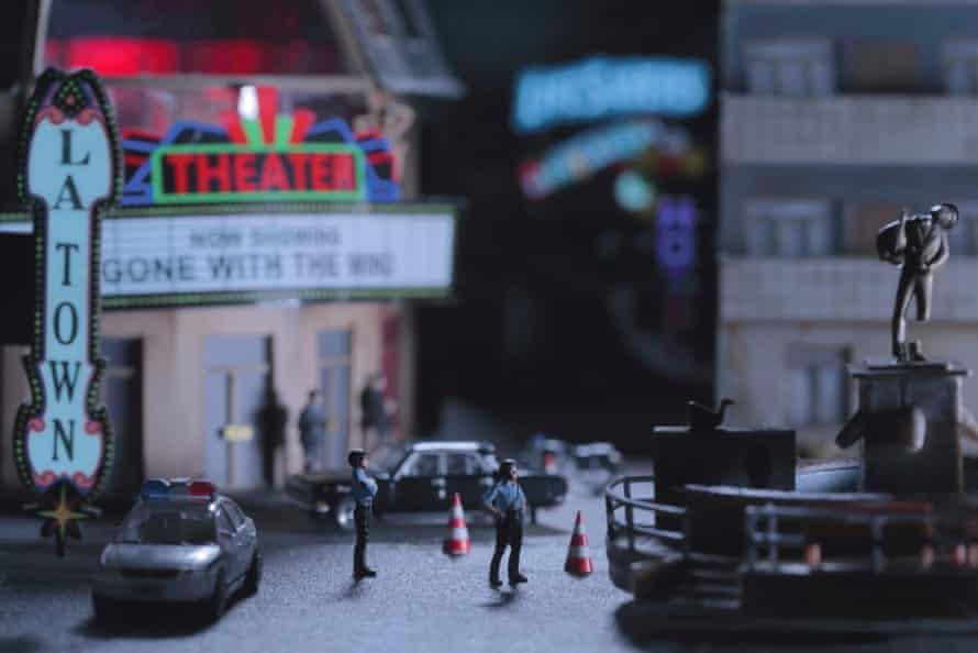 Ridiculous … the miniature dioramas of La Town.