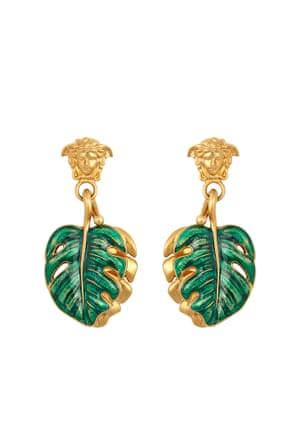 earrings, £250 versace.com