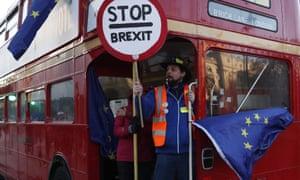 Anti-Brexit protesters