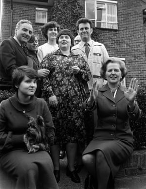 Margaret Thatcher visits Parker family, among the first to buy council house in Ealing
