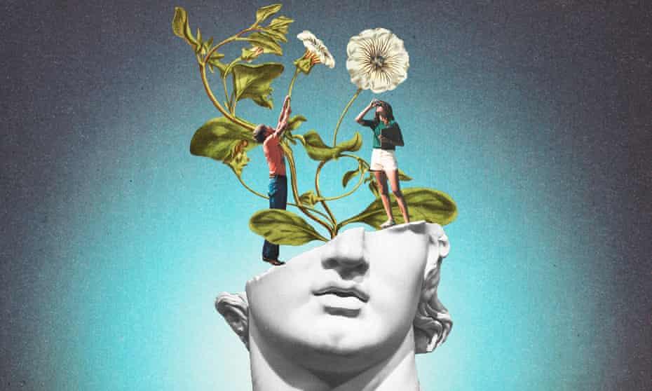 Mental health series illustration.