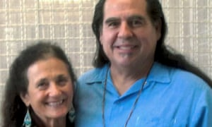 Douglas Stankewitz and Colleen Hicks, his girlfriend, at San Quentin