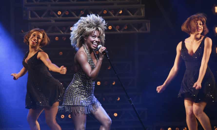 Simply the best ... Adrienne Warren as Tina Turner.