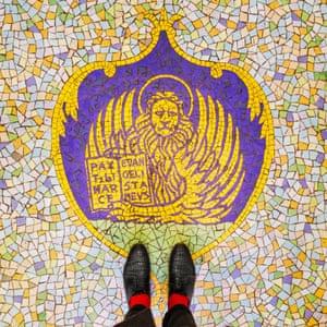 Caffé Florian, Piazza San Marco Venetian floor photographed by Sebastian Erras