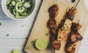 Nicola's Knockout Chicken Kebabs