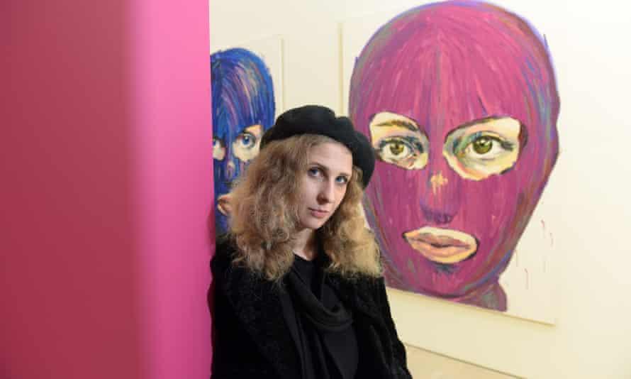 Maria Alyokhina of Pussy Riot.