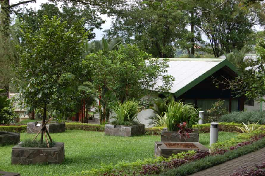The lush grounds of the JCLEC