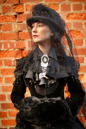 Hannah Ashton from Redford in her Victorian inspired costume