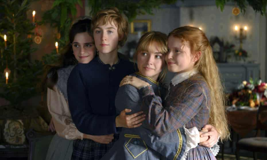 The March quartet: (from left) Meg (Emma Watson); Jo (Saoirse Ronan); Amy (Florence Pugh) and Beth (Eliza Scanlen).