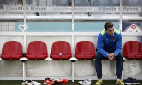 Sutton's Jamie Collins: 'Wimbledon moaned but their pitch was horrendous'