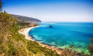 Praia Galapinhos, Setubal