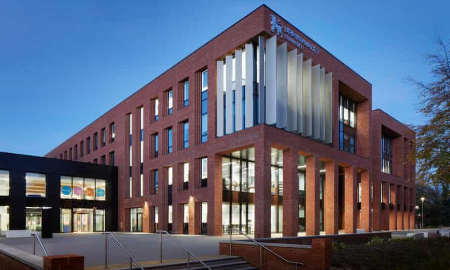 Birmingham City University – south campus.