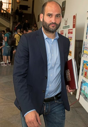 Pere Guardiola, the manager's brother