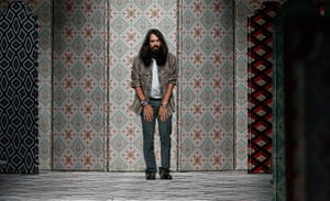 Playful … Alessandro Michele at Gucci's spring/summer 2016 show in Milan