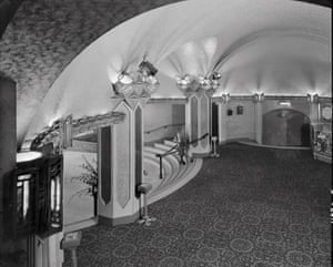 The original stalls foyer of The Capitol theatre
