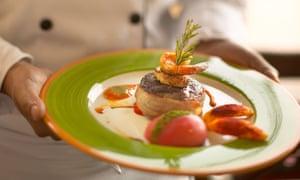 filet mignon on plate