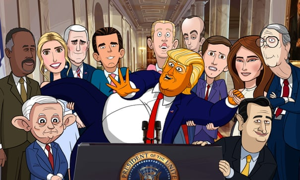 Our Cartoon President review – Stephen Colbert's farce nails