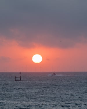 Sunrise over Ramsgate