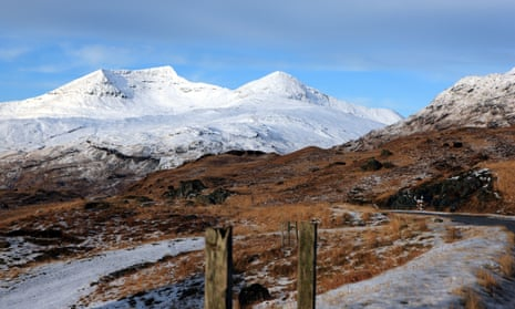 Ben More on the Isle of Mull.