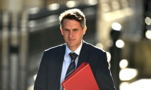 Gavin Williamson arrives at Downing Street for a Cabinet meeting on Wednesday