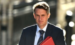 Gavin Williamson arrives at Downing Street for a cabinet meeting, 21 July 2020
