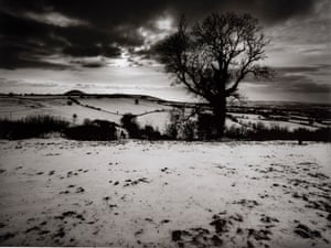 Approaching evening, looking from Don McCullin's house during winter 1991.