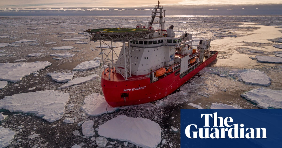 Scale of onboard fire revealed as damaged Antarctic ship MPV Everest tries to avoid rough weather