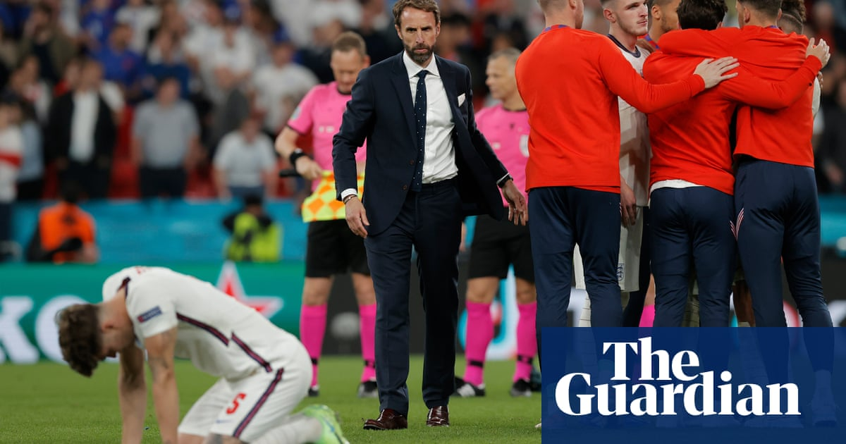 Gareth Southgate undone by lack of boldness as England falter at the last
