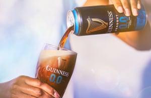 Alcohol free Guinness recallUndated handout file photo of Guinness' alcohol free version of its famed stou.