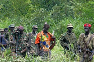 Members of Uganda's Lord's Resistance Army, in 2006