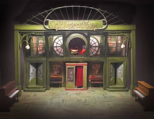 Model box photo for Amelie the Musical at the Watermill Theatre