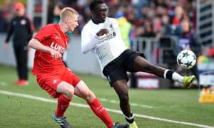 Liverpool's Bobby Adekanye