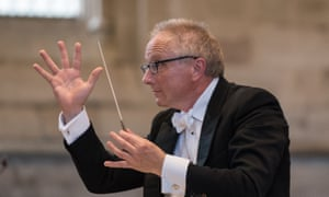 Honouring Smyth's intention of a sublime culminating finale ... conductor Geraint Bowen.