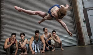 Tricks are for kids... Barely Methodical Troupe perform Kin.