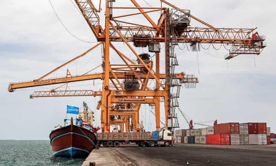 The key Yemeni port of Hodeidah