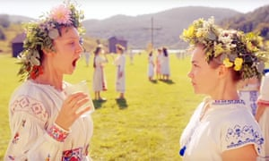 Florence Pugh, right, in Ari Aster's  Midsommar.